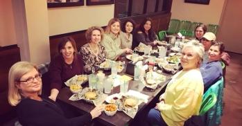Ladies' Night at Wahlburgers